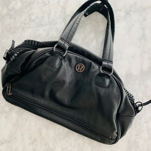 Lululemon Black Gym Duffel Bag *Worn* Still Great!